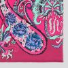 Silk scarf Pushkin Magenta EE001S/006 by English Eccentrics