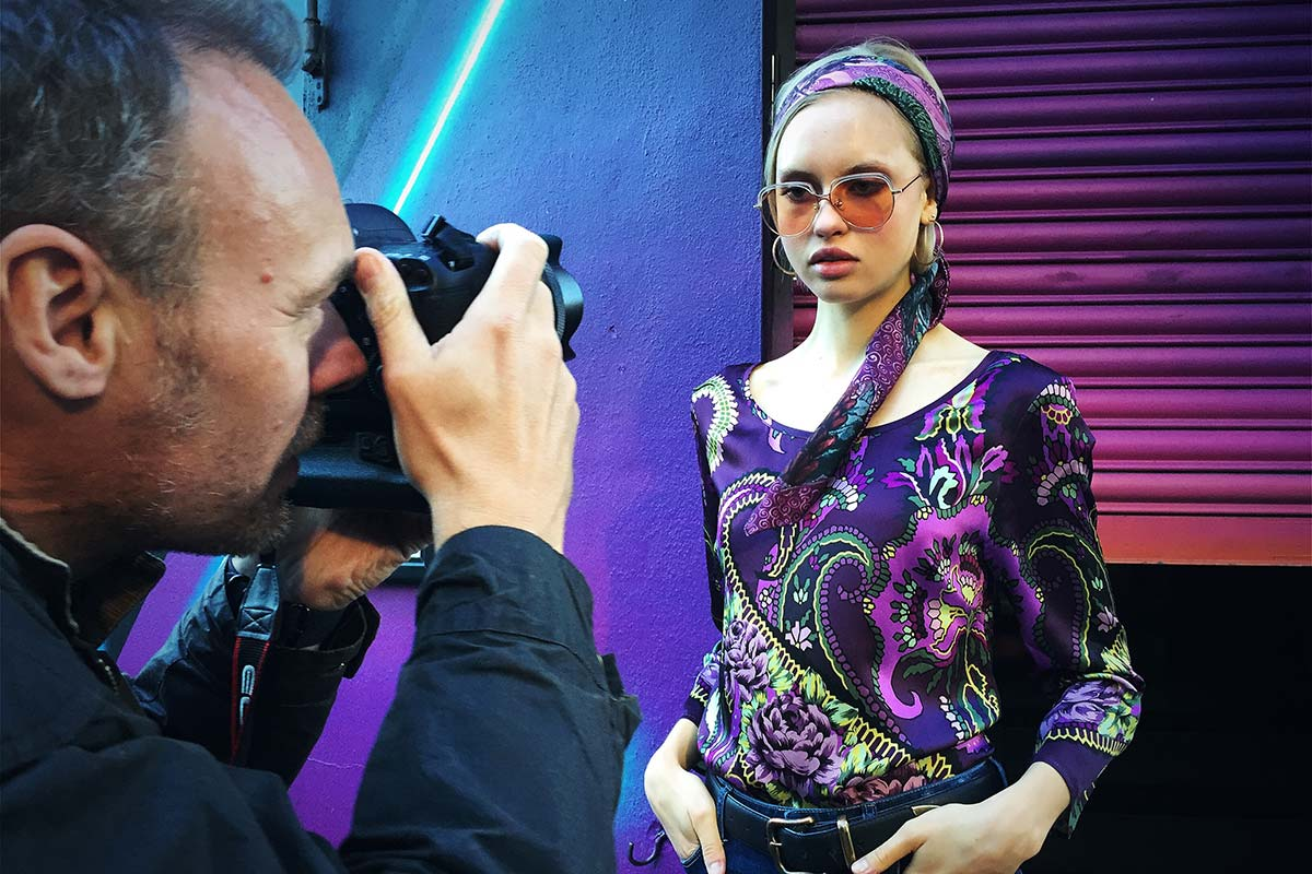Behind the scenes at the first English Eccentrics photo shoot, Shoreditch, London