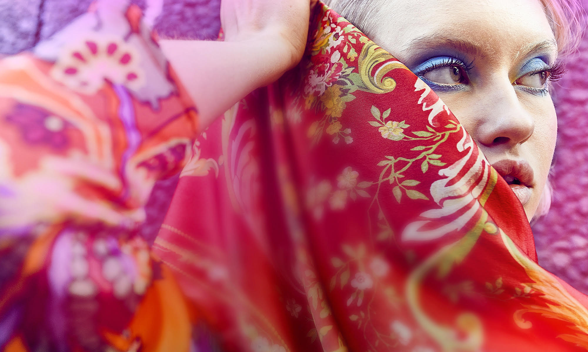 Exclusive limited edition silk scarves by English Eccentrics