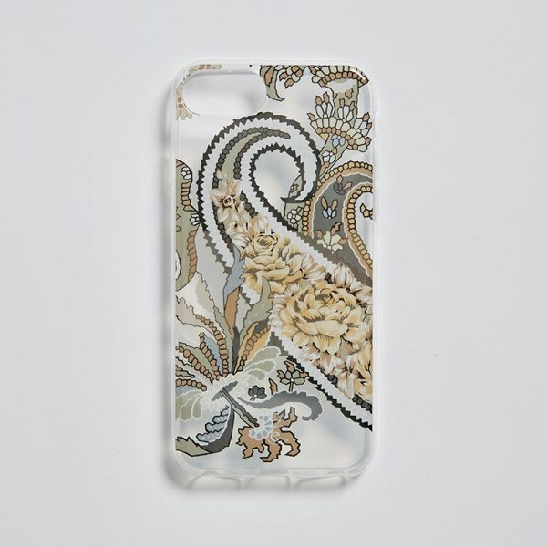 iPhone 7/8 Clear Mobile Case Pushkin Navy EE013PC/003 by English Eccentrics