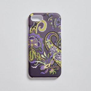 iPhone 7/8 Matt Mobile Case Pushkin Aubergine EE017PC/001 by English Eccentrics